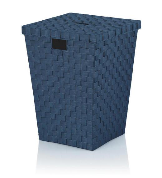 WÄSCHETONNE - Blau, Basics, Kunststoff (40/52/40cm) - Kela
