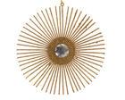 OKRASNI OBESEK GOLDEN DREAM - zlata, umetna masa (15,0/15,0/15,0cm)
