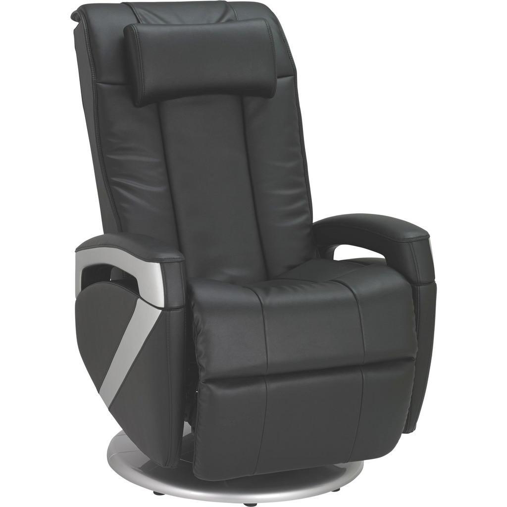 Cantus MASSAGESESSEL Kombination Echtleder/Lederlook Lederlook Schwarz | Wohnzimmer > Sessel > Massagesessel | Cantus
