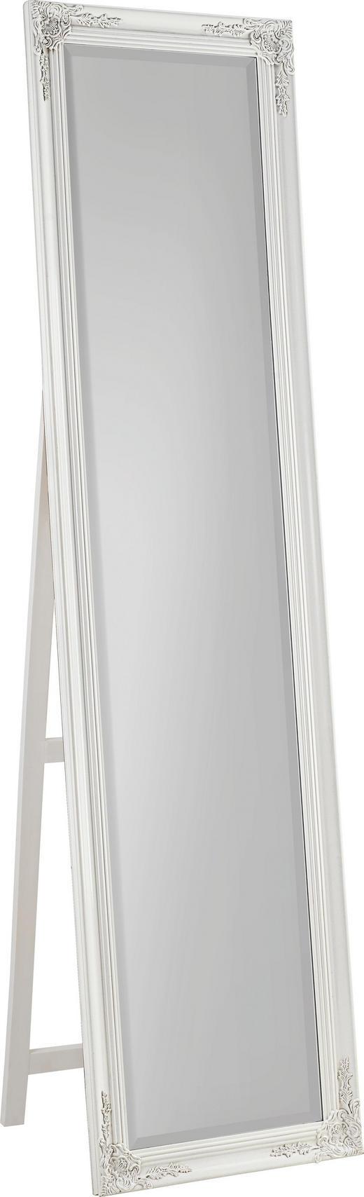 STANDSPIEGEL Weiß - Weiß, LIFESTYLE, Holz (45/180/3,3cm) - Carryhome