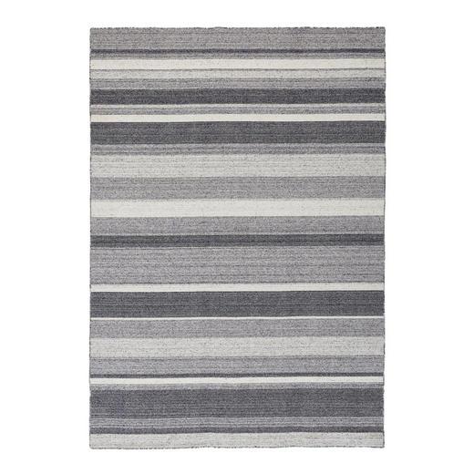 HANDWEBTEPPICH  80/200 cm  Grau - Grau, Textil (80/200cm) - Novel