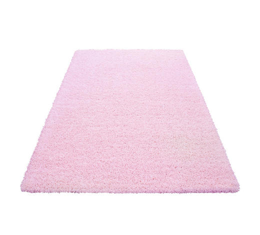 HOCHFLORTEPPICH - Pink, Trend, Textil (140/200cm) - Novel