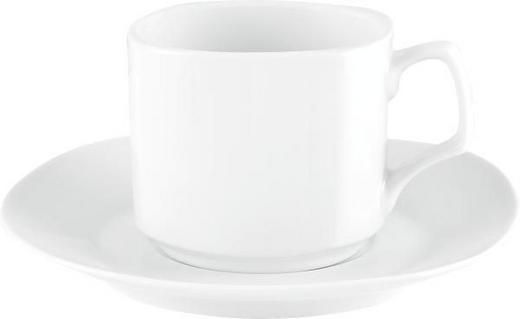KAFFEKOPP MED FAT - vit, Basics, keramik - BOXXX