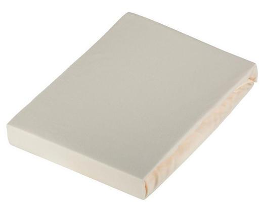 SPANNBETTTUCH Frottee Creme bügelfrei - Creme, Basics, Textil (100/200cm) - Novel