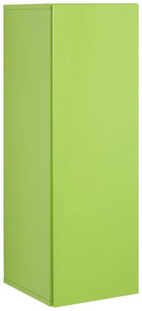 VÄGGHÄNGT SKÅP - ljusgrön, Design, träbaserade material (90/30/34cm)