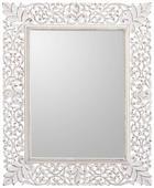 SPIEGEL  68/84/2 cm - Weiß, Trend, Glas/Holzwerkstoff (68/84/2cm) - LANDSCAPE