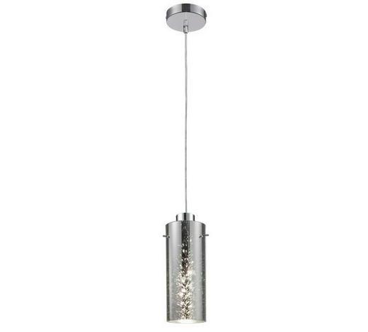 STROPNA LED SVETILKA STELLAR - krom, Konvencionalno, kovina/steklo (145cm)