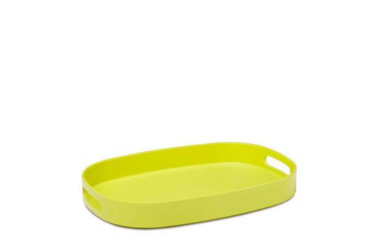 TABLETT Kunststoff - Grün, Design, Kunststoff (39/27,2/4,8cm) - Mepal Rosti