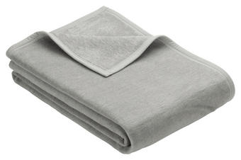 WOHNDECKE 150/200 cm - Silberfarben, Basics, Textil (150/200cm) - Novel