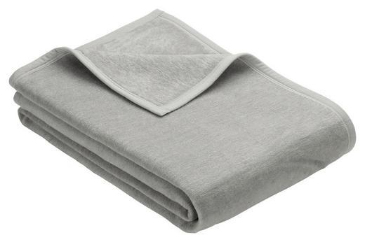WOHNDECKE 150/200 cm Silberfarben - Silberfarben, Basics, Textil (150/200cm) - Novel