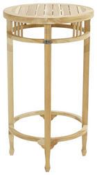 GARTEN-BARTISCH in Teakfarben - Teakfarben, Design, Holz (60/100cm) - AMBIA GARDEN