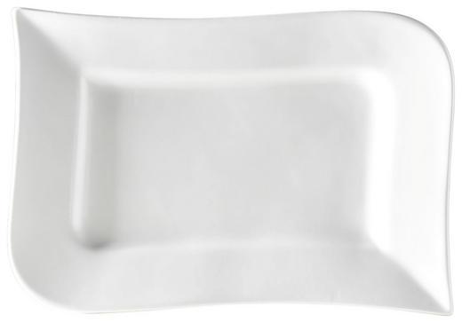 SERVIERPLATTE - Weiß, Basics, Keramik (26/2/17cm) - Ritzenhoff Breker