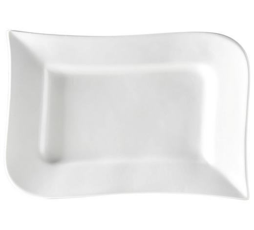 SERVIERPLATTE - Weiß, Design, Keramik (26/2/17cm) - Ritzenhoff Breker