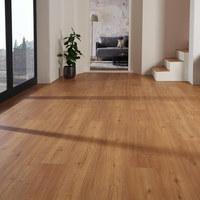 VINYLBODEN per  m² - Eichefarben/Braun, LIFESTYLE, Holzwerkstoff (123,5/23/0,82cm) - Venda