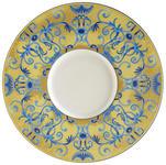 PLATZTELLER  30,2 cm  - Blau/Gelb, Basics, Keramik (30,2cm) - Novel