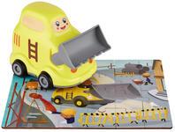 PUZZLE - Gelb/Multicolor, Basics, Holzwerkstoff/Kunststoff (14.6/10/15cm) - My Baby Lou