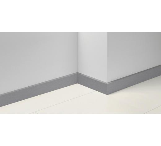 SOCKELLEISTE Edelstahlfarben - Edelstahlfarben, Basics, Holzwerkstoff (257/1,65/7cm) - Parador