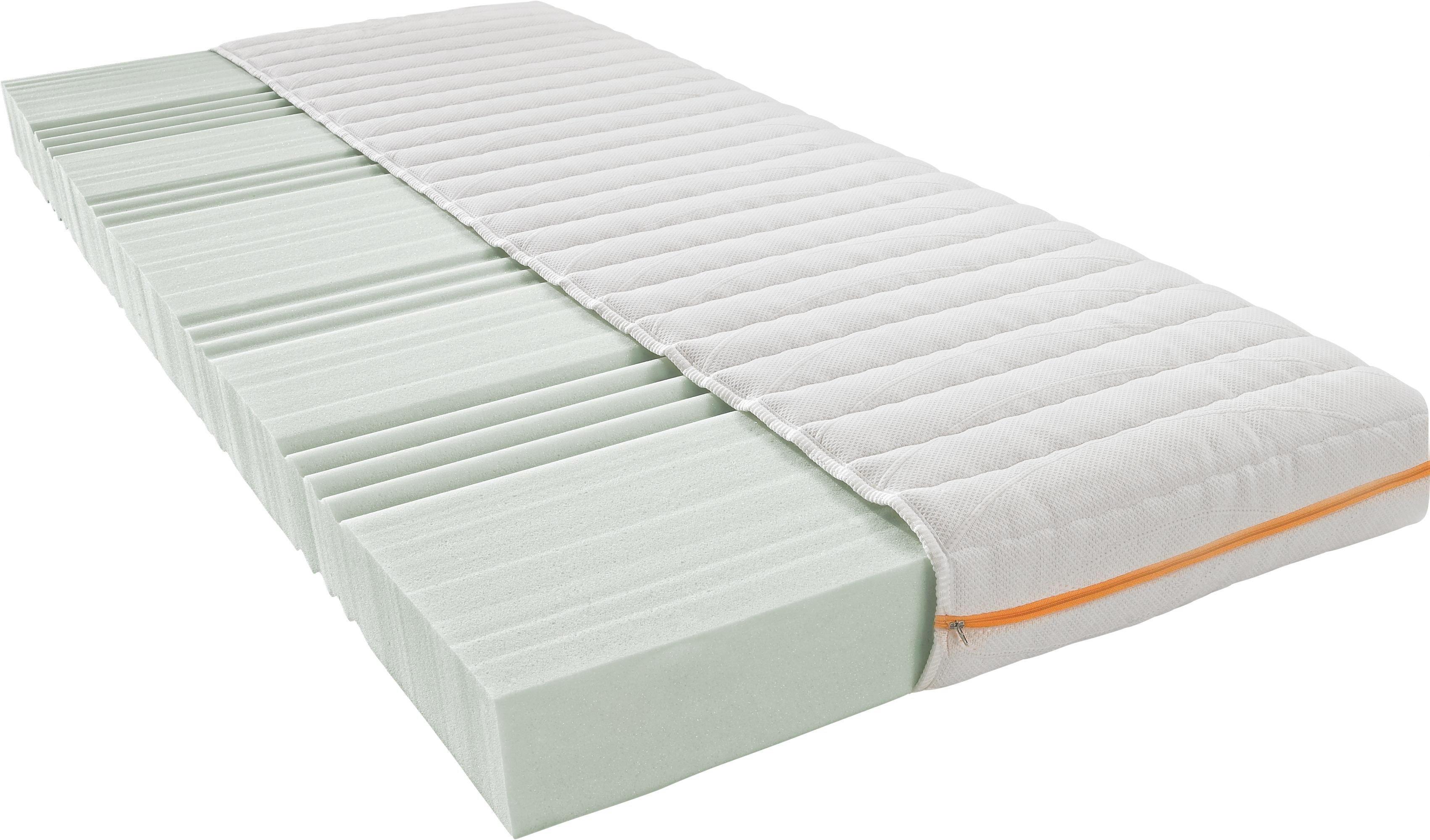KALLSKUMSMADRASS, 90/200 CM - vit, Basics, textil (90/200cm) - SLEEPTEX