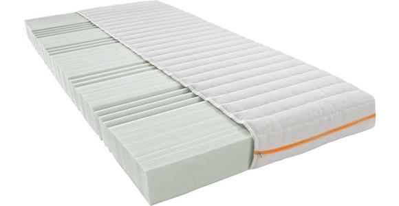 KALTSCHAUMMATRATZE 140/200 cm  - Weiß, Basics, Textil (140/200cm) - Sleeptex
