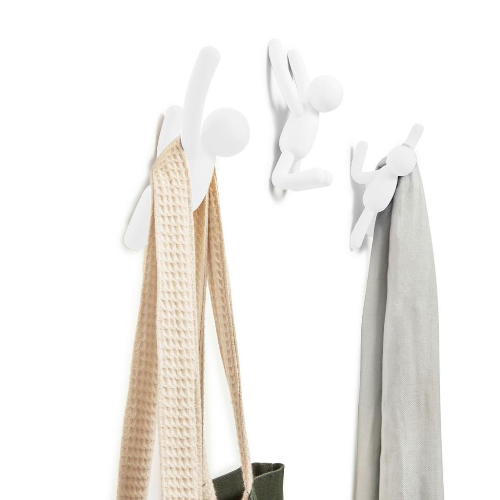XXXLutz Garderobenhaken weiß