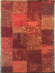 VINTAGE-TEPPICH  80/250 cm  Orange, Rot - Rot/Orange, Textil (80/250cm) - Novel