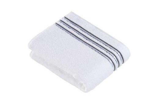 DUSCHTUCH 67/140 cm - Weiß, Basics, Textil (67/140cm) - VOSSEN