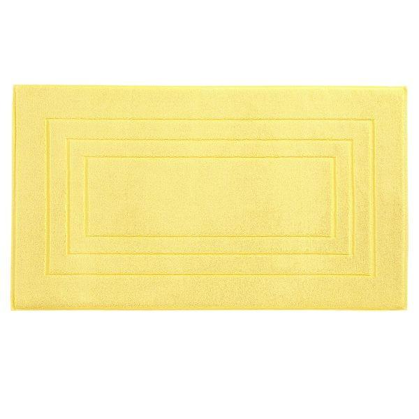 BADEMATTE in Gelb 60/100 cm - Gelb, Basics, Textil (60/100cm) - VOSSEN