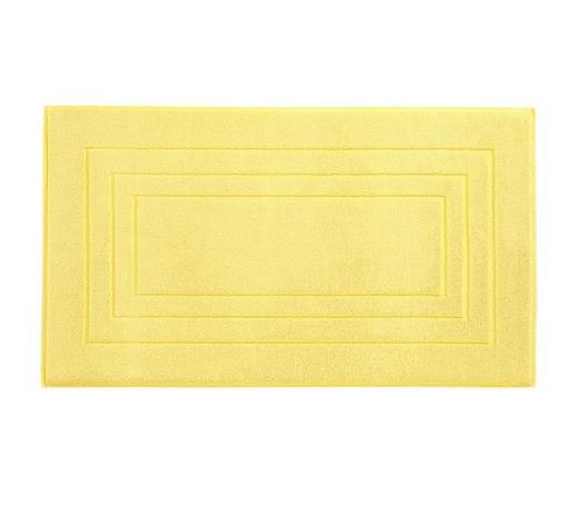BADEMATTE in Gelb 67/120 cm  - Gelb, Basics, Textil (67/120cm) - Vossen