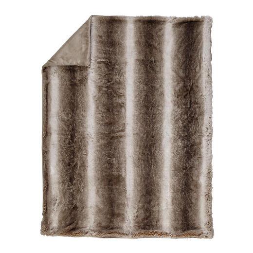 FELLDECKE 150/200 cm Taupe - Taupe, Design, Textil (150/200cm) - Ambiente
