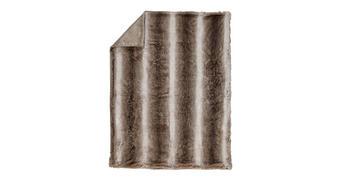 KRZNENA ODEJA ZOBEL - sivo rjava, Design, tekstil (150/200cm) - Ambiente