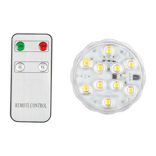 LED SCHWIMMLEUCHTE - Weiß, Basics, Kunststoff (7cm)