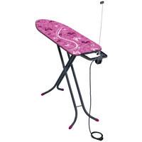 BÜGELBRETT - Pink, Basics, Textil (41,5/9/154cm) - Leifheit