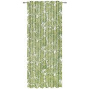 FERTIGVORHANG halbtransparent - Grün, KONVENTIONELL, Textil (140/245cm) - Esposa