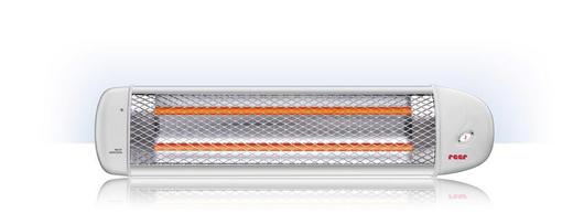 HEIZSTRAHLER - Weiß, Basics, Kunststoff/Metall (58/13/11cm) - Reer
