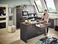 EINBAUKÜCHE   - Design, Holzwerkstoff - Xora