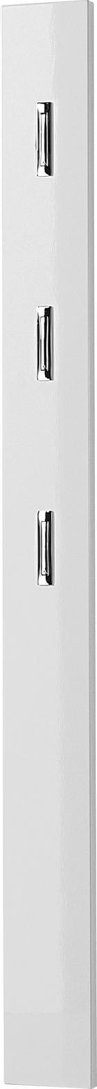 GARDEROBENPANEEL 15/170/4 cm - Weiß, Design, Holzwerkstoff (15/170/4cm)