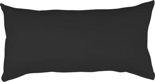 KOPFKISSENBEZUG  40/80 cm - Schwarz, Basics, Textil (40/80cm) - SCHLAFGUT
