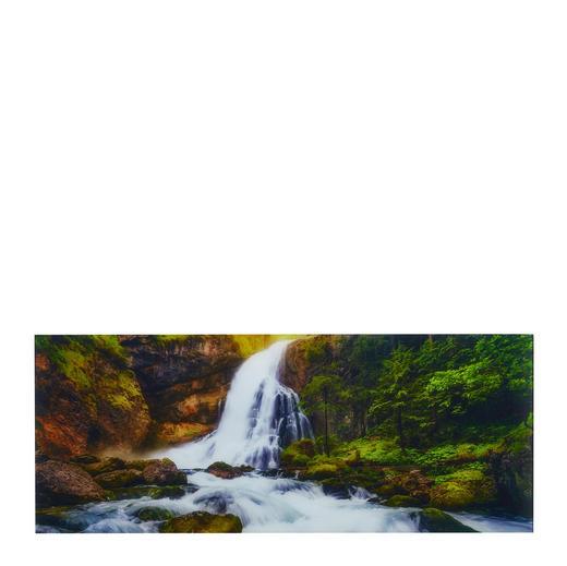 Landschaft & Natur GLASBILD - Multicolor, LIFESTYLE, Glas (125/50/2cm) - Eurographics