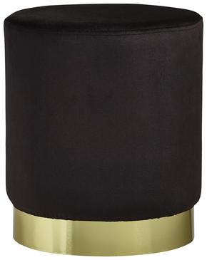 PALL - svart/guldfärgad, Trend, metall/träbaserade material (35/40cm) - Xora