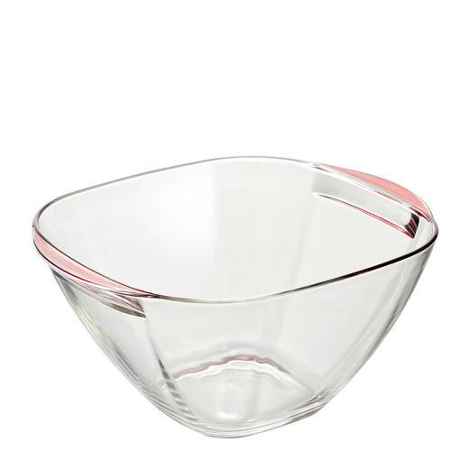 OBSTSCHALE Glas - Rot, Basics, Glas (24/23/12cm) - Ritzenhoff Breker