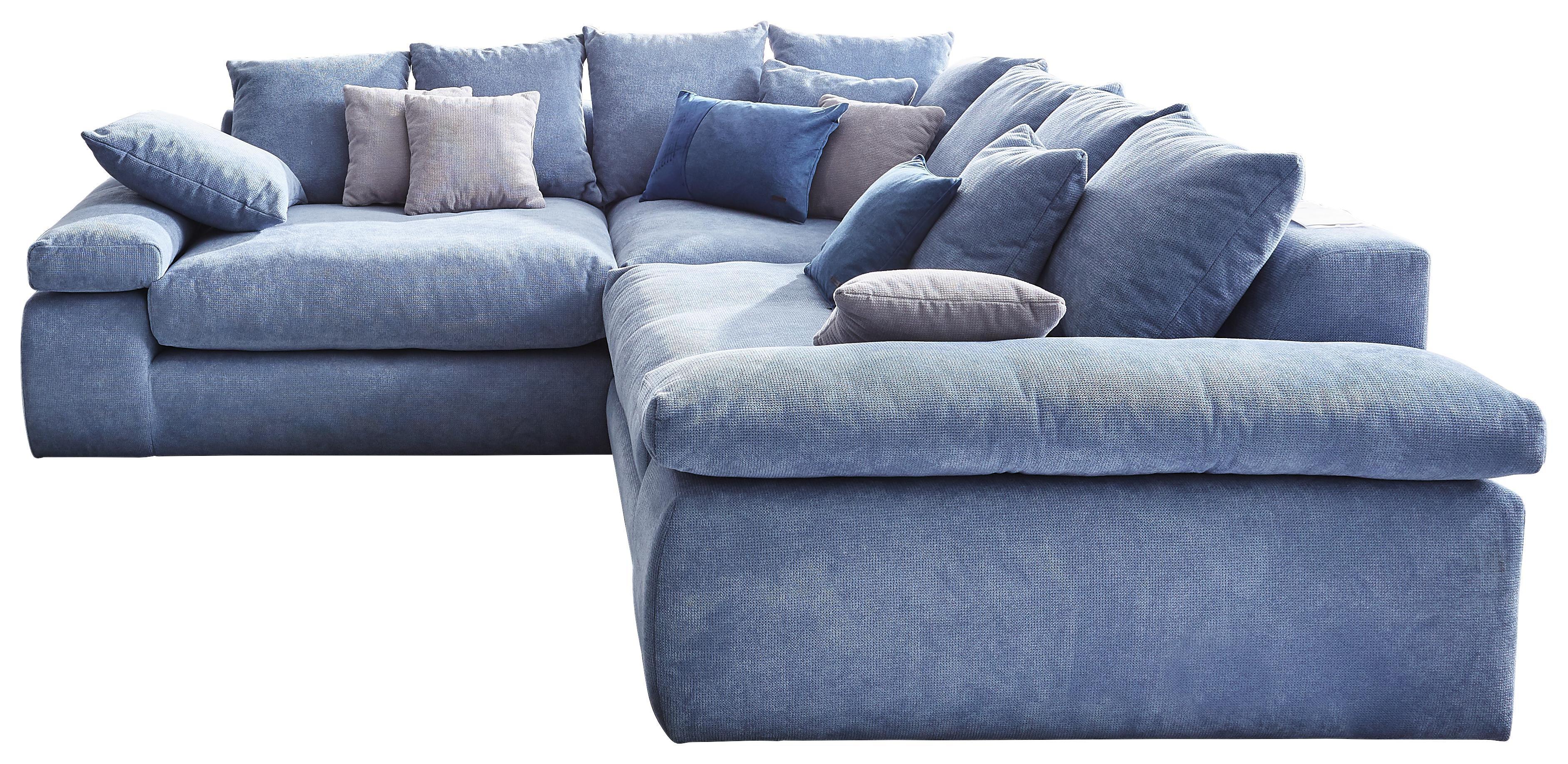 Graues Sofa Blaue Kissen Caseconrad Com