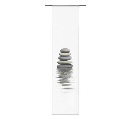 FLÄCHENVORHANG in Schwarz, Weiß - Schwarz/Weiß, Design, Textil (60/245cm)