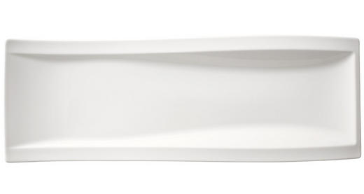 SERVIERPLATTE - Weiß, Basics, Keramik (15/42cm) - Villeroy & Boch