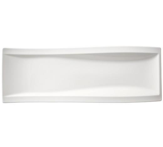 SERVIERPLATTE - Weiß, Design, Keramik (15/42cm) - Villeroy & Boch