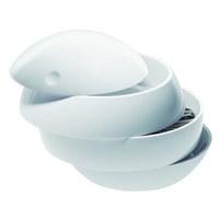 Kosmetikdose - Weiß, Basics, Kunststoff (16/14cm) - Spirella