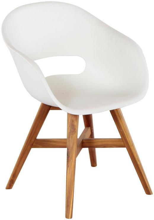 Gartenstühle kunststoff  GARTENSTUHL Akazie Akaziefarben, Weiß online kaufen ➤ XXXLutz