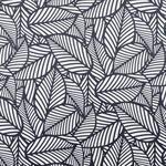 VORHANGSTOFF per lfm Verdunkelung  - Schwarz/Weiß, Trend, Textil (140cm) - Esposa