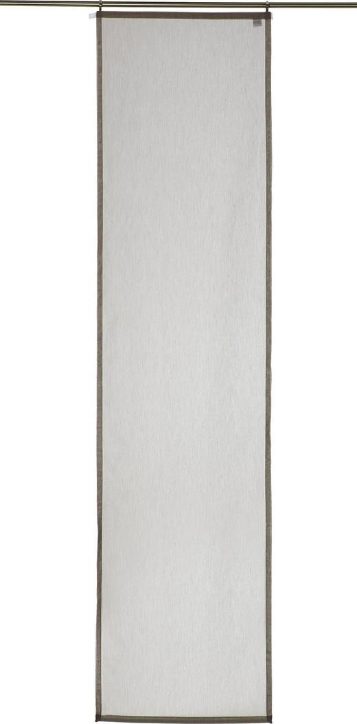 FLÄCHENVORHANG     60/245 cm - Taupe, Basics, Textil (60/245cm) - Novel