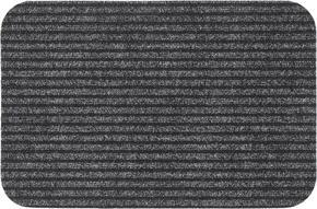 DÖRRMATTA - grå, Klassisk, textil/plast (40/60cm) - Boxxx