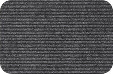 FUßMATTE 40/60 cm - Grau, KONVENTIONELL, Kunststoff/Textil (40/60cm) - Boxxx